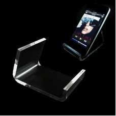 Acrylic Single Cell Phone Display Easel Stand