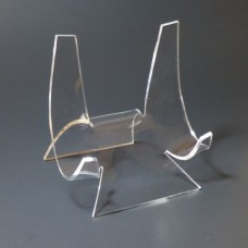 Acrylic Plate Display Stand Easel 5\  for 7-12\  Plates & Acrylic Easels / Plate Stands / CD DVD Displays