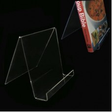 Acrylic Book CD/DVD Display Easel Stand - 6""
