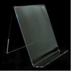 Acrylic Book CD/DVD Display Easel Stand No Lip