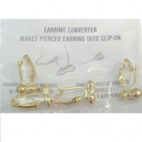 Earring Converters - Gold Plated / 4 pcs