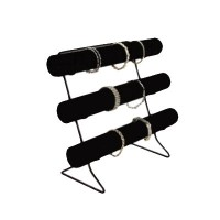 Bracelet Display Bar w/Metal Base - 3 Tier