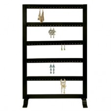 Metal Earring Stand - 5 Tier 50 Pair / Black