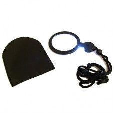"Necklace Illuminated Magnifier 2"" lens - 3x / 8x"