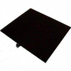 Black Velvet Jewelry Tray Liner 1/2 Size